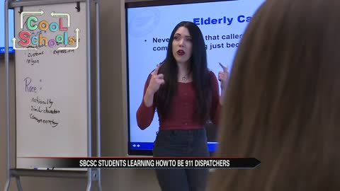 South Bend teaches students 911 software
